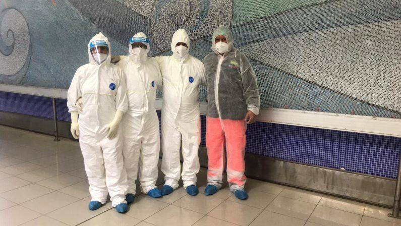 Rientri in Calabria, personale 118 impegnato per i tamponi per il Covid-19