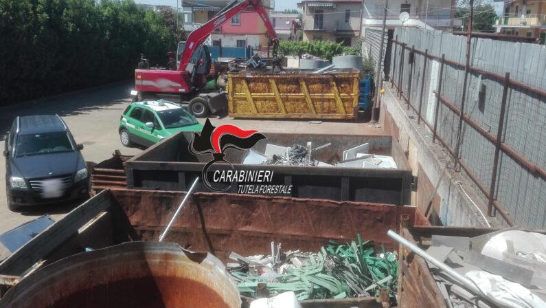 Pomigliano d'Arco: Smaltimento illecito di rifiuti, denunciate tre persone