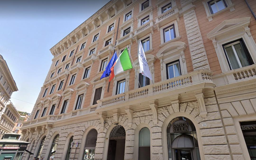 La sede della Sace a Roma