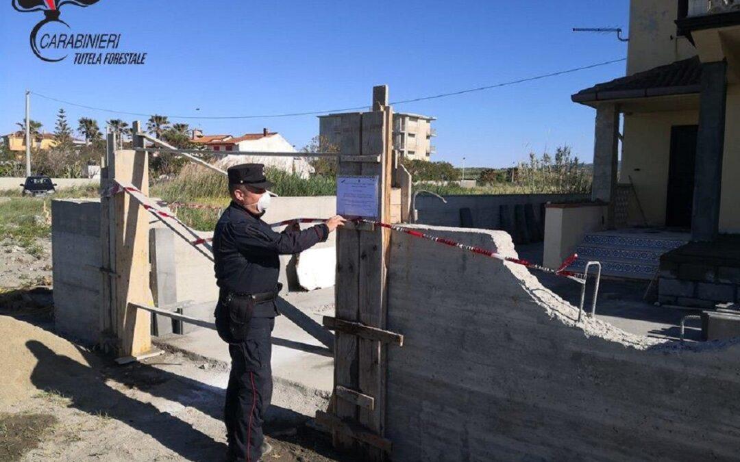 Abusivismo edilizio, due denunce dei carabinieri per opere realizzate nel Cosentino senza permesso