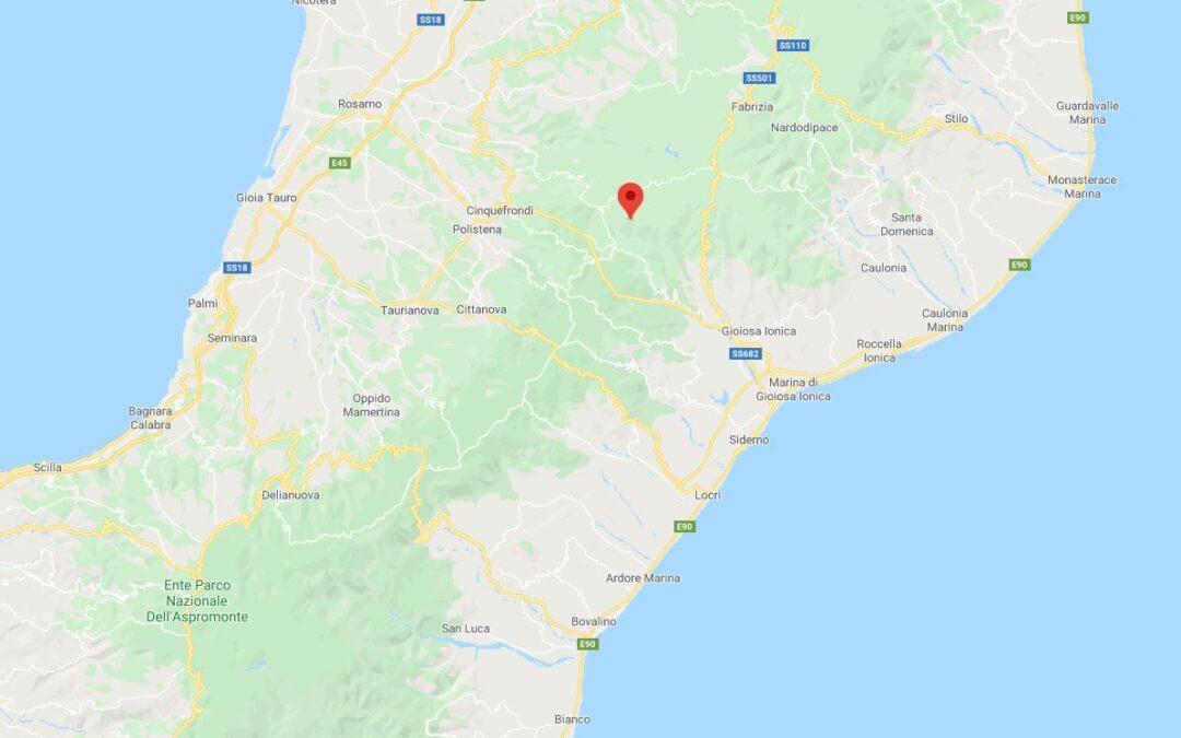Registrata una scossa di terremoto in provincia di Reggio Calabria