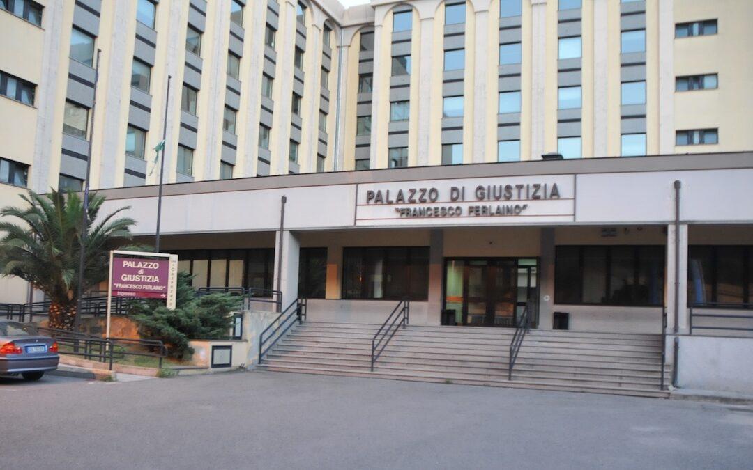 Il palazzo di giustizia di Catanzaro