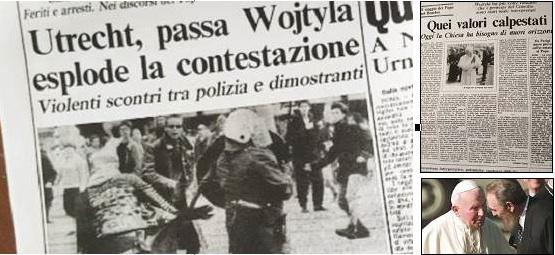 Quando Papa Wojtyla in Olanda fu contestato