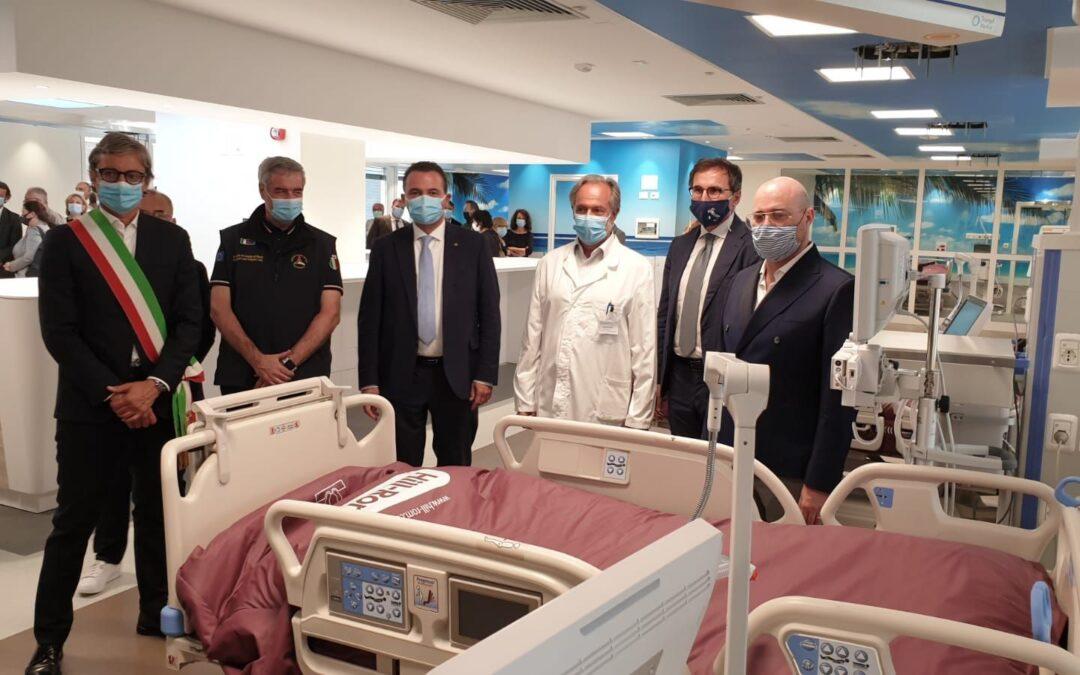 Nuovo Hub per la terapia intensiva all'ospedale Infermi di Rimini