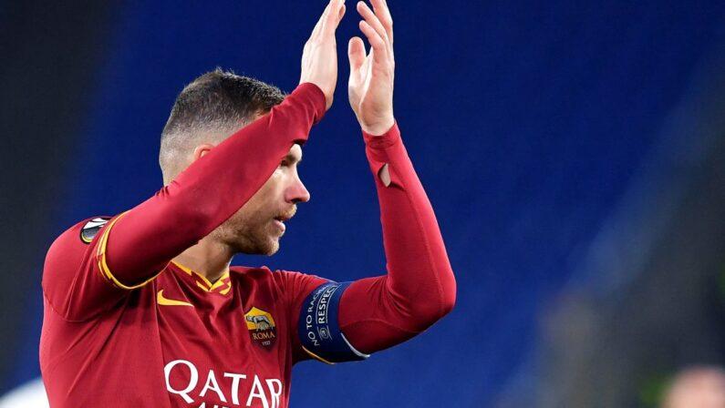 Seria A, doppietta Dzeko trascina la Roma, 2-1 in rimonta alla Samp