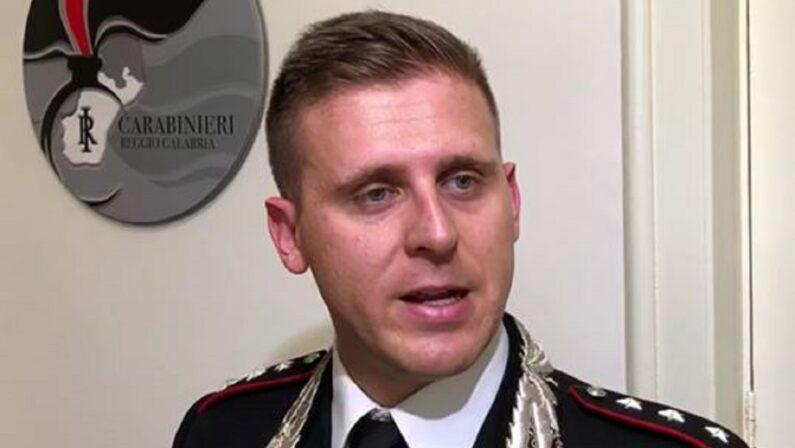 """VIDEO - Operazione """"Banda del buco"""" a Reggio Calabria, parla il capitano dei carabinieri Marco Catizone"""