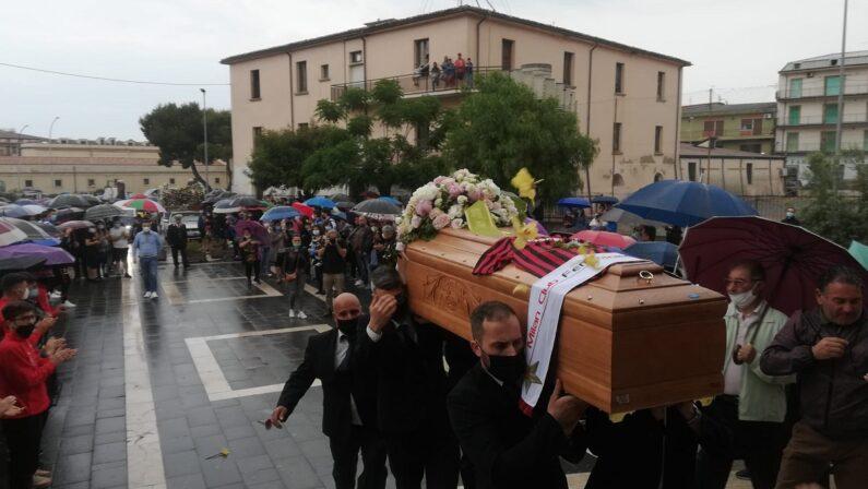 A Corigliano Rossano l'ultimo saluto a Francesca Gattuso