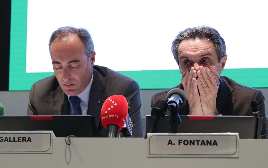 Giulio Gallera e Attilio Fontana