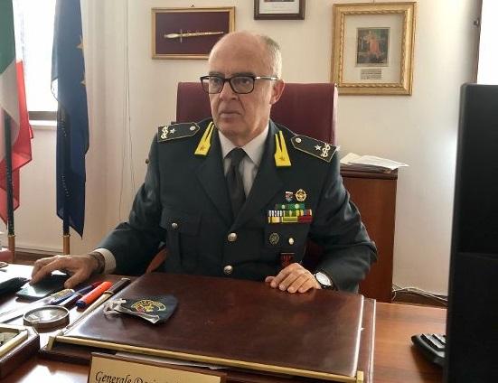 Il generale di Brigata Dario Solombrino