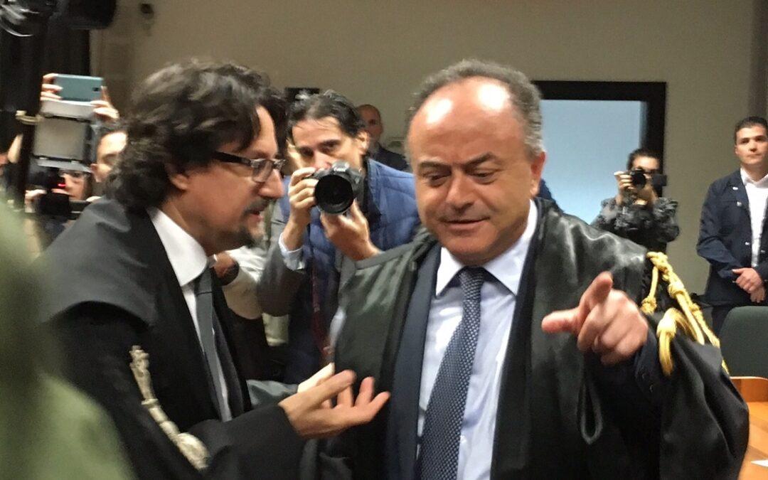 Giovanni Bombardieri e Nicola Gratteri