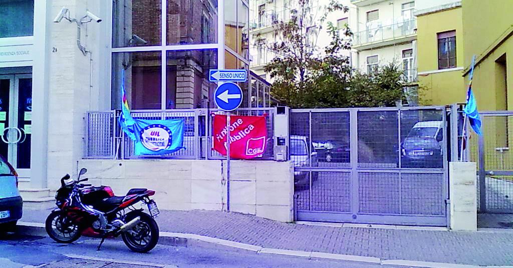 La sede Inps di Matera