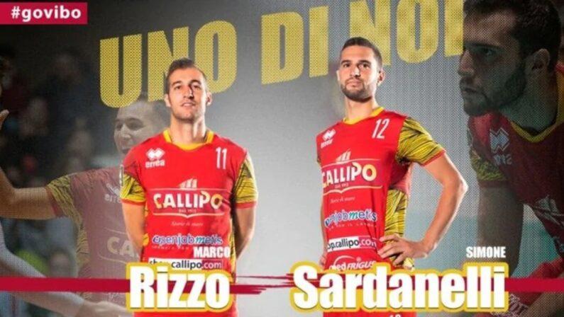 Due conferme ufficializzate dalla Tonno Callipo volley, Rizzo e Sardanelli restano in giallorosso