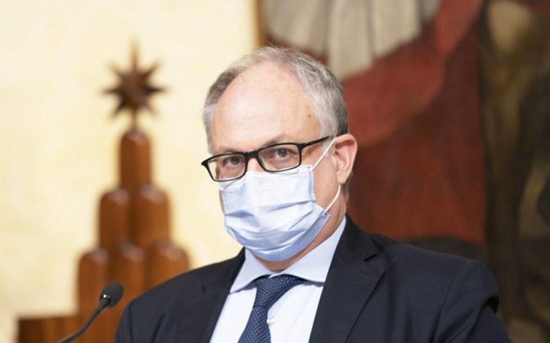 Il ministro Roberto Gualtieri