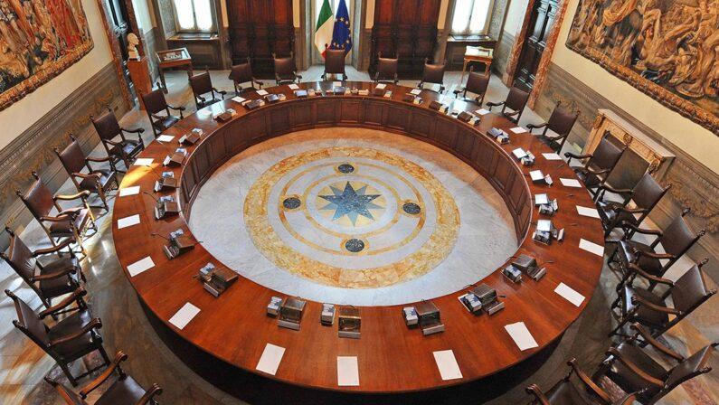 Convocato alle 20 il Consiglio dei ministri, possibile rinvio delle elezioni regionali in Calabria