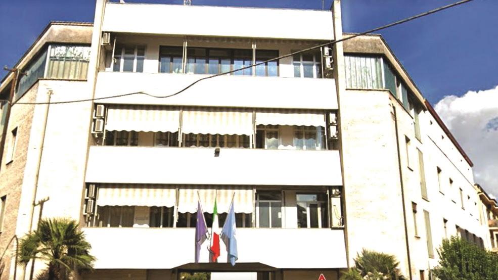 La sede del Comando dei vigili del fuoco di Cosenza