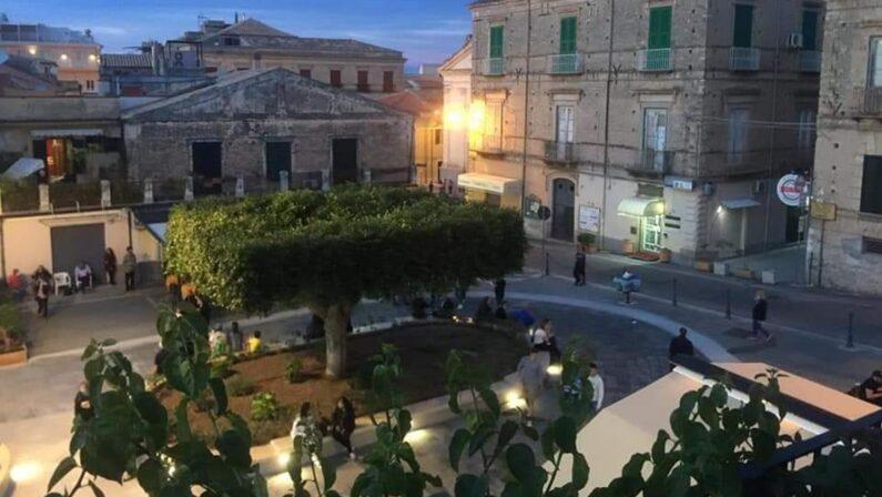 Tropea, inaugurata piazza Vittorio Veneto alla presenza della presidente Jole Santelli