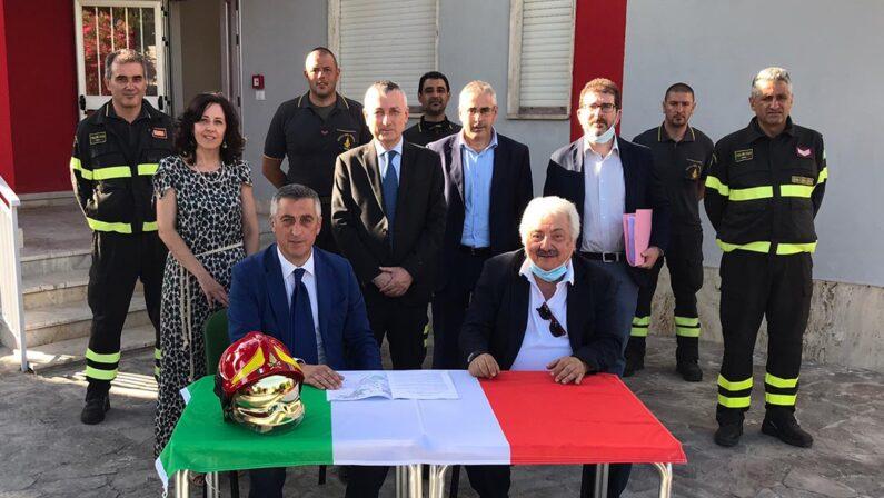 Vigili del fuoco, distaccamento permanente a Ricadi, opereranno 28 unità