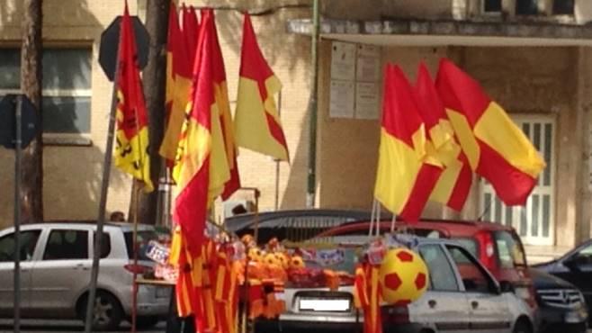 Calcio: Benevento aspetta la A, città si colora di giallorosso