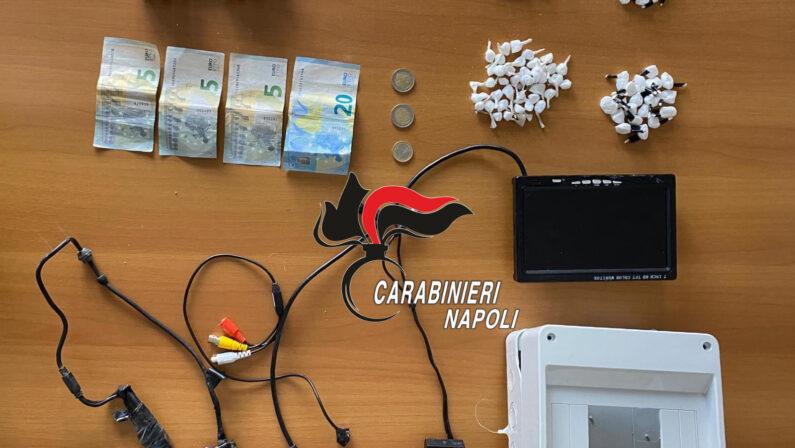 Caivano: Carabinieri arrestano 24enne per detenzione di stupefacenti