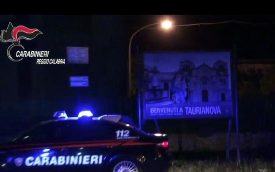 I carabinieri della Compagnia di Taurianova