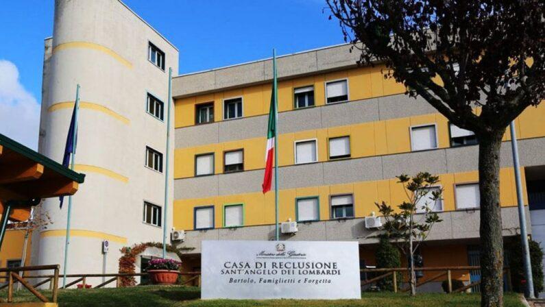 Detenuto psichiatrico aggredisce tre agenti nel carcere di Sant'Angelo dei Lombardi