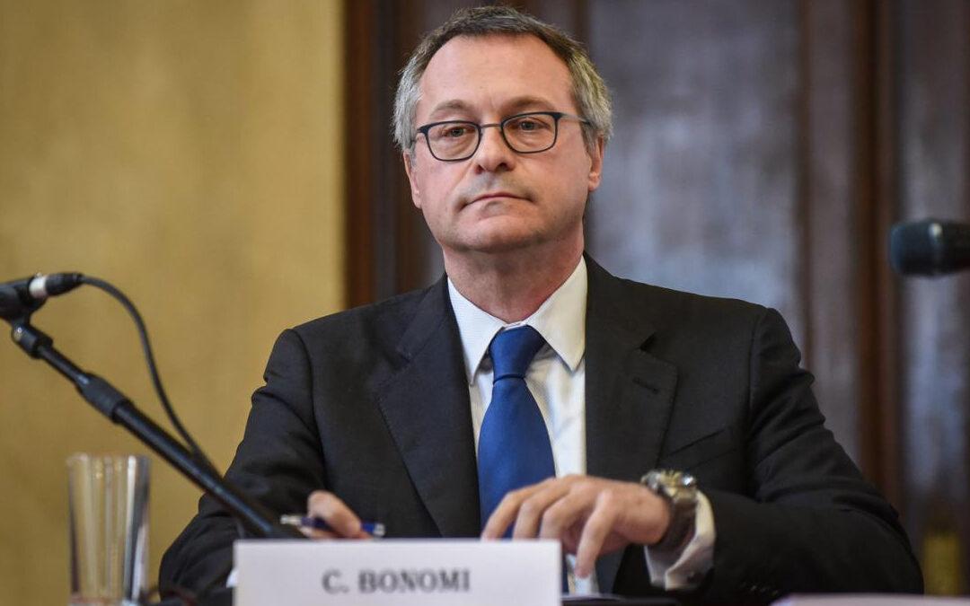 Il presidente di Confindustria, Carlo Bonomi