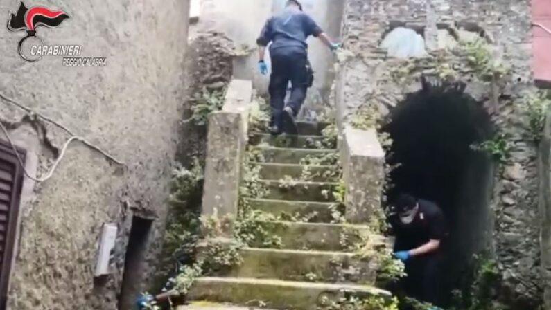 Armi e droga, arrestato nel Reggino: inutile tentativo di fuga all'arrivo dei carabinieri - VIDEO