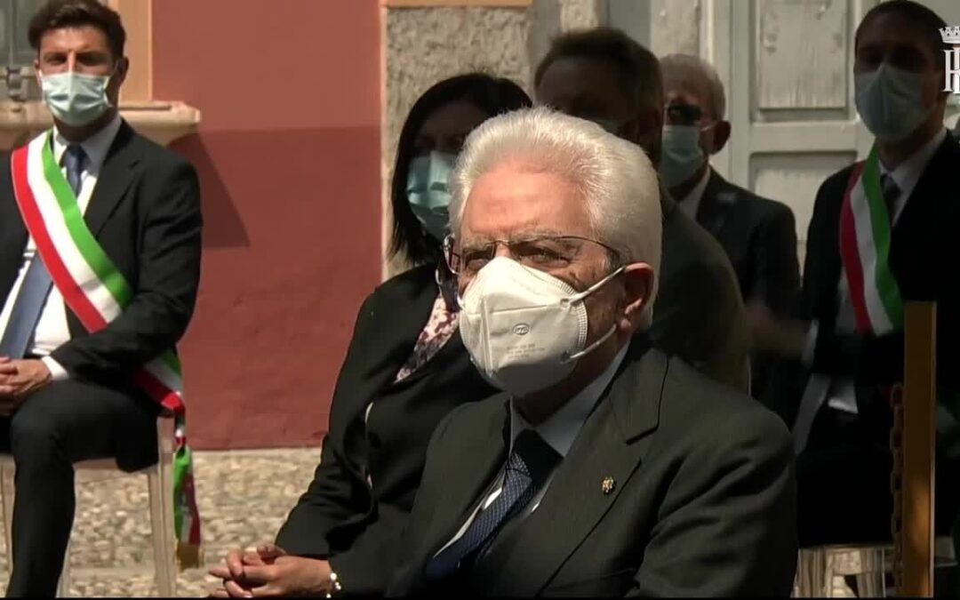 2 giugno, Mattarella rende omaggio alle vittime di Codogno