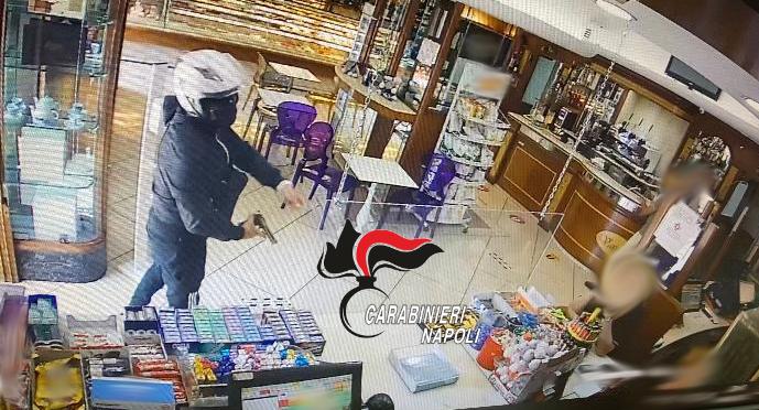 Napoli: rapina una pasticceria ma viene arrestano dai carabinieri