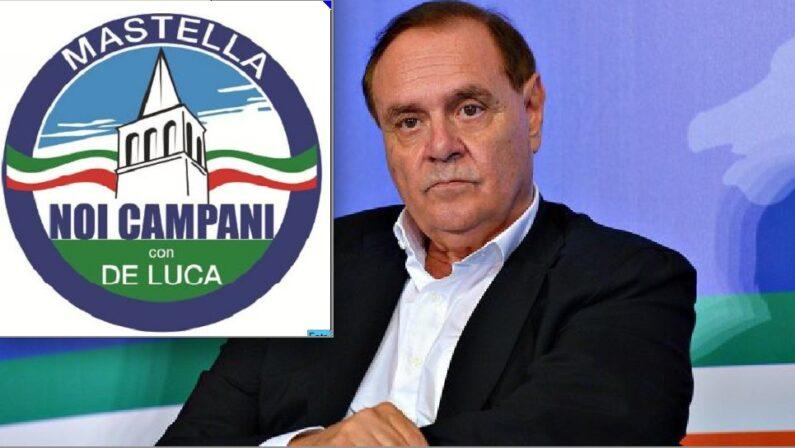"""""""Noi campani con De Luca"""" Mastella presenta il simbolo"""