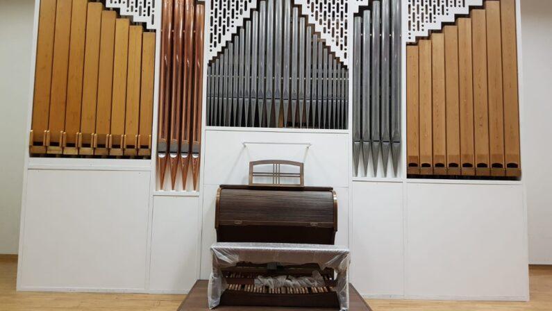 Rinasce l'organo Tamburini, tesoro del Cimarosa di Avellino