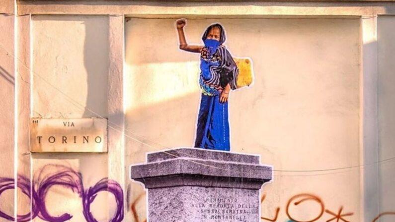 Chi è senza peccato,eriga la prima statua