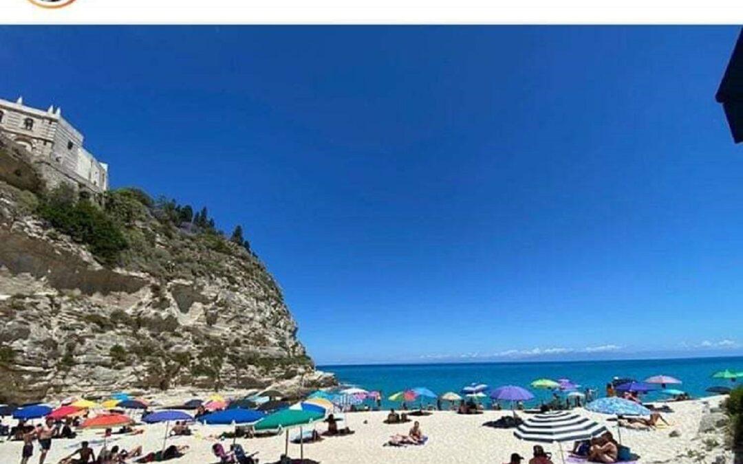 Un'immagine di Tropea pubblicata sul profilo Instagram di Gabriele Muccino