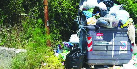 Potenza, la città sospesa sommersa da rifiuti ed erbacce