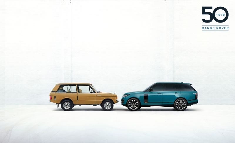 Range Rover celebra 50 anni con esclusiva edizione limitata