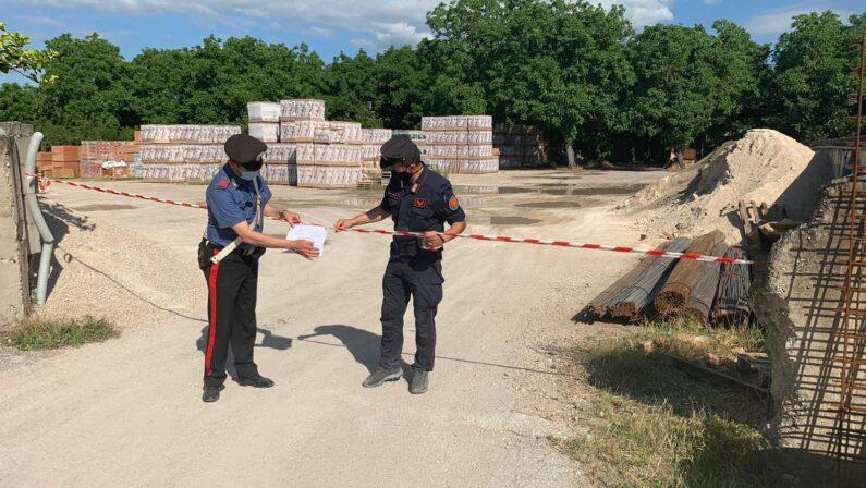 Sicurezza ambientale. Continuano i controlli dei carabinieri: 3 le persone denunciate e 2 i sequestri