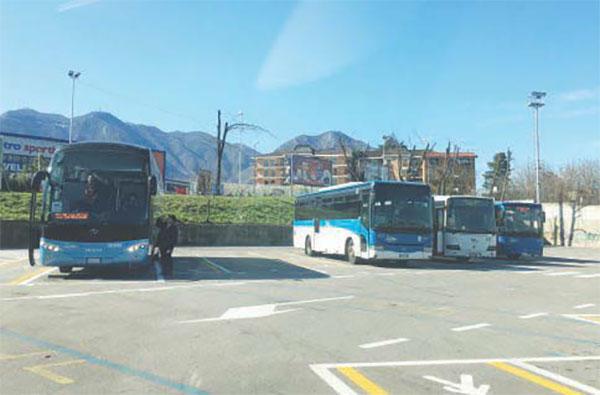 Terminal bus, disagi senza fine
