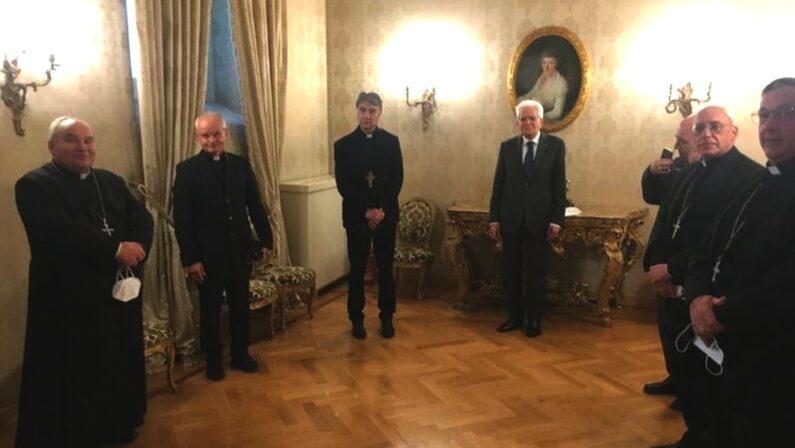 I Vescovi di Irpinia e Sannio incontrano Mattarella per confrontarsi sui problemi delle Aree interne