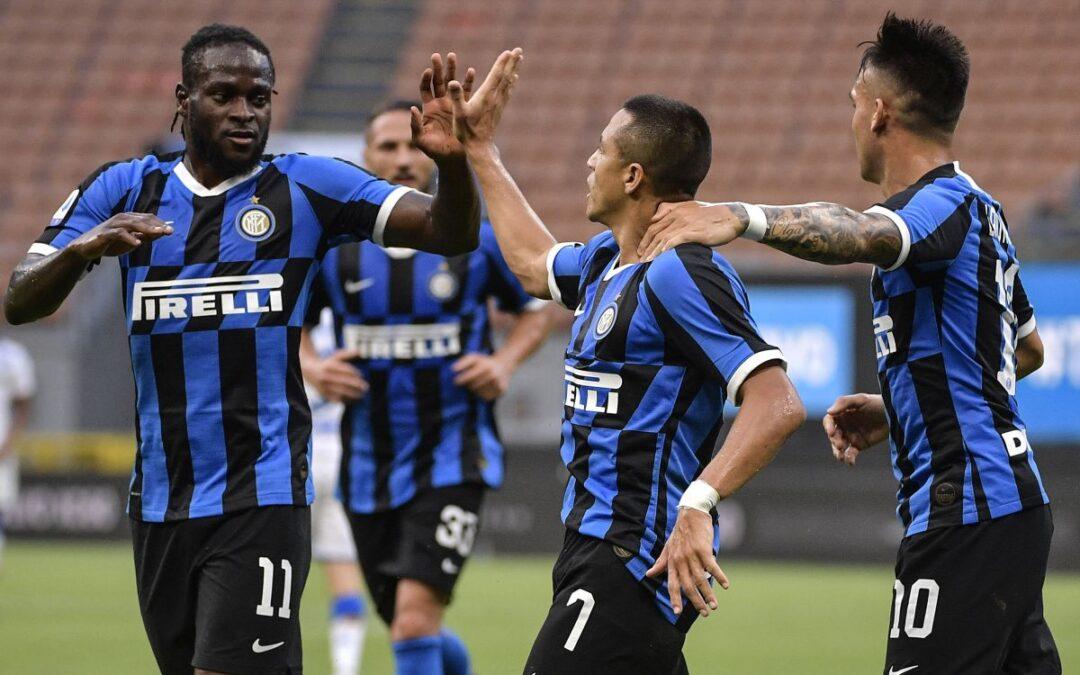 Tutto facile per l'Inter: 6-0 al Brescia