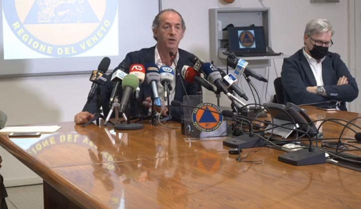 Coronavirus, il governatore Zaia: «Ricoveri coatti per chi rifiuta le cure»