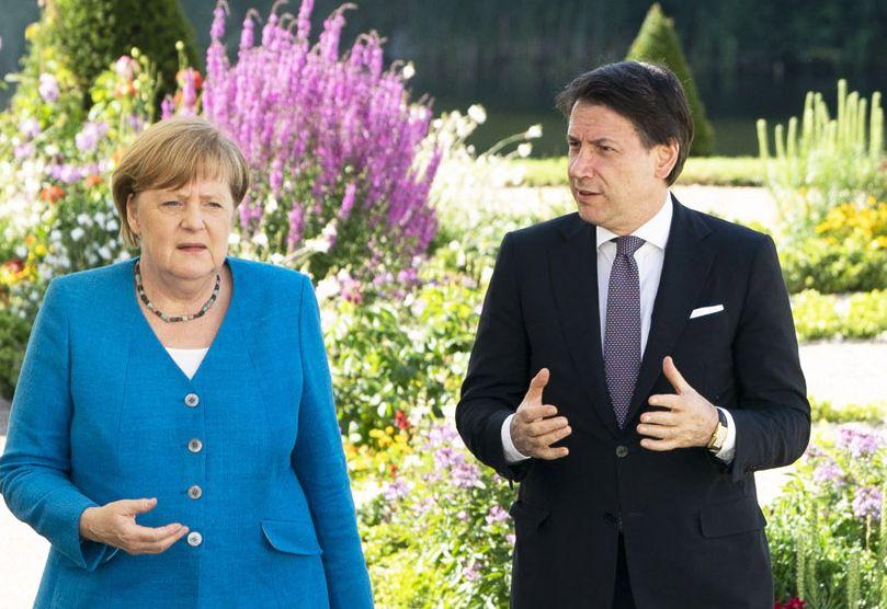 """Conte-Merkel """"Negoziato difficile, ma si troverà accordo"""""""