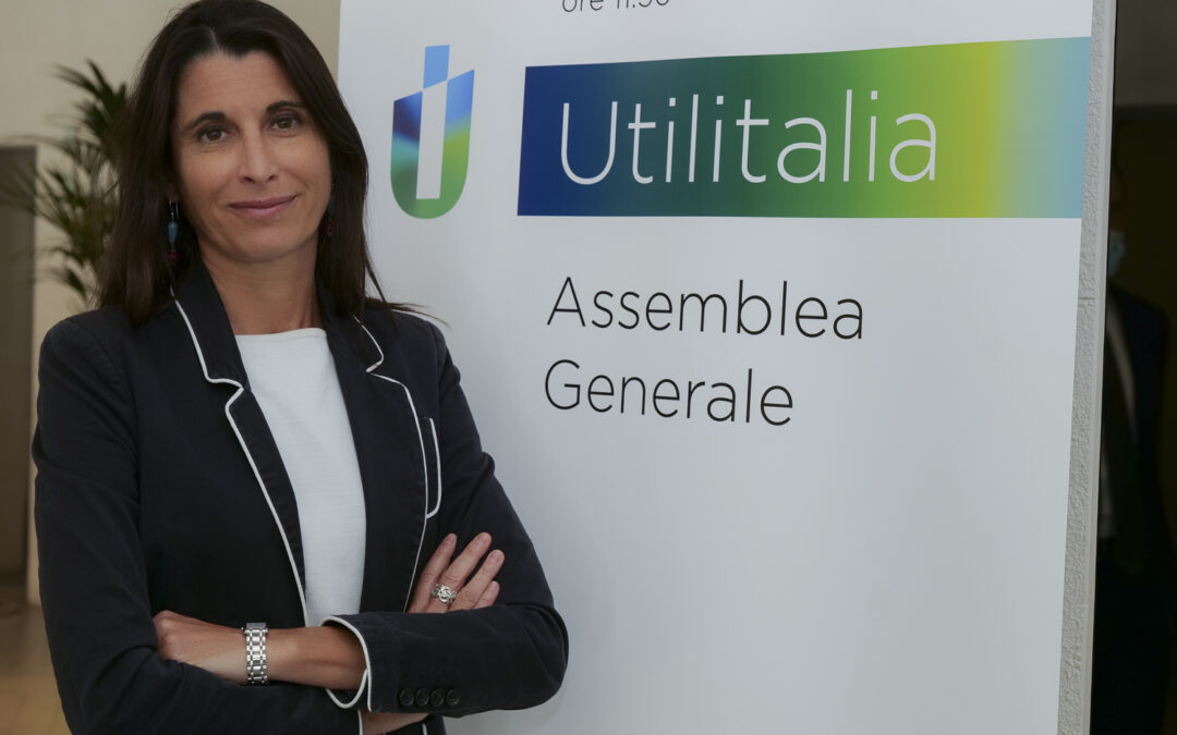 Utilitalia, Michaela Castelli è la nuova presidente
