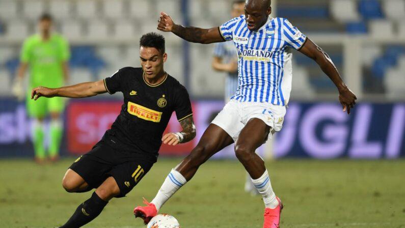 Seria A, l'Inter batte 4-0 la Spal e sale al secondo posto in classifica