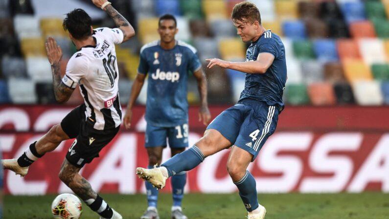 Serie A, la Juventus perde 2-1 a Udine, scudetto rinviato