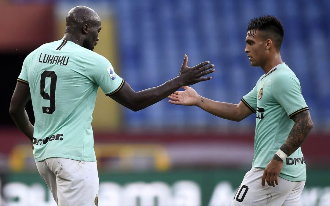 Serie A, Doppietta Lukaku e gol Sanchez, l'Inter vince 3-0 in casa Genoa