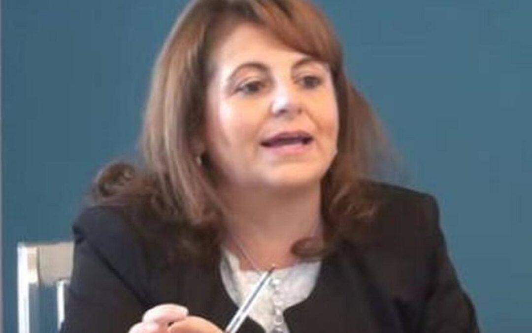 L'assessore regionale Domenica Catalfamo