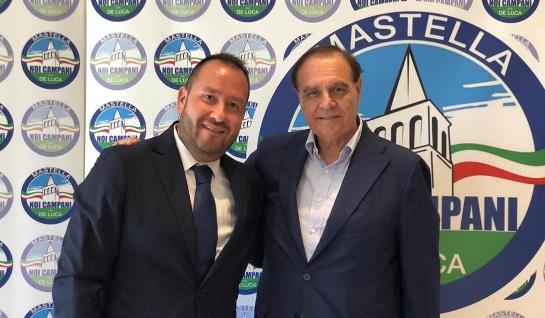 Giuseppe Caruso e Clemente Mastella
