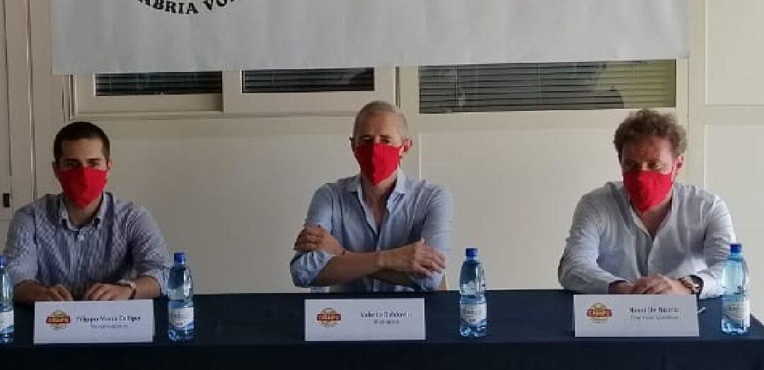 La conferenza stampa di presentazione di Baldovin