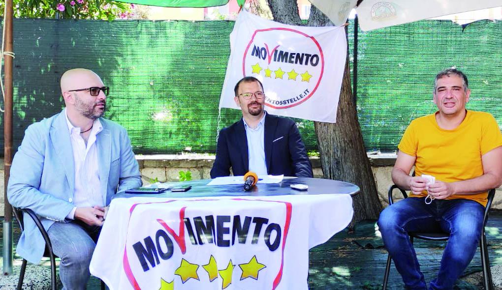 Domenico Bennardi tra Antonio Materdomini e Gianni Perrino