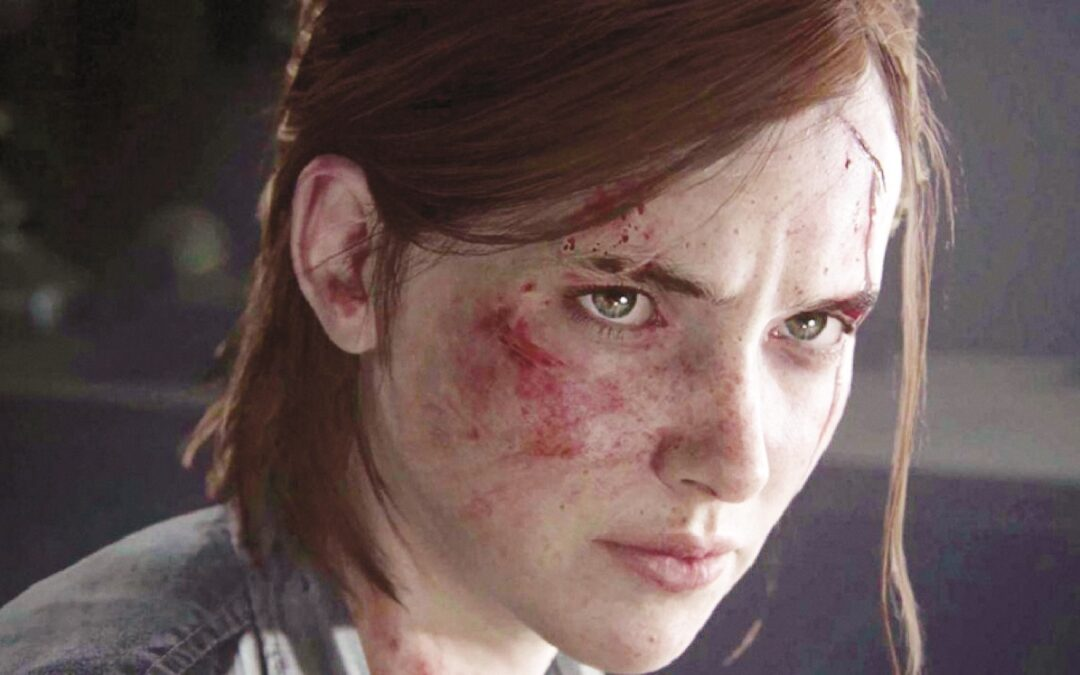 "Ellie in ""The Last Of Us"""
